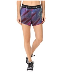 Spyder Ruling 2 In 1 Shorts Geo Rays Voila Women's Shorts Multi