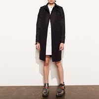 Coach Icon Trench Black