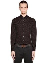 Etro Petit Paisley Print Washed Cotton Shirt