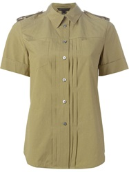 Marc By Marc Jacobs Military Style Shirt Green
