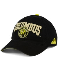 Adidas Columbus Crew Performance Slouch Adjustable Cap Yellow Black