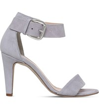 Carvela Kitty Suede Sandals Grey