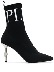 Philipp Plein Original High Heel Boots Black