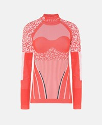 Stella Mccartney Red Running Primeknit Long Sleeve