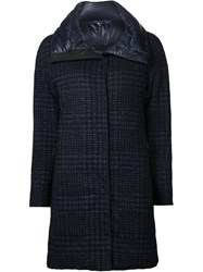 Capobianco Reversible Padded Coat Blue