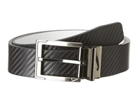 Nike Carbon Fiber Textured Reversible Black White Men's Belts