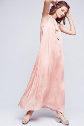 Nor Black Nor White Gold Coast Maxi Dress Pink Peach