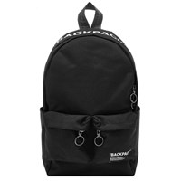 Off White Quote All Over Print Backpack Black