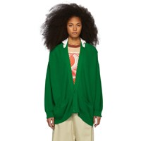 Undercover Green Knit Cardigan