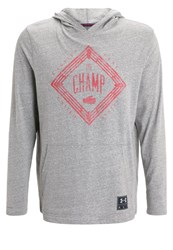 Under Armour Clay Triblend Hoodie Grey