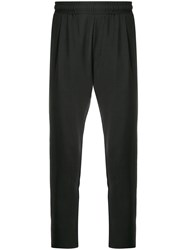 Low Brand X Houseofc Slim Fit Trousers Black