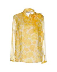 Blugirl Blumarine Shirts Blouses Women Yellow