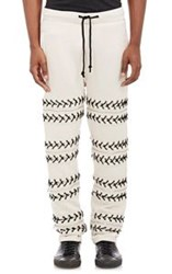 Hood By Air Lace Up Sweatpants Nude
