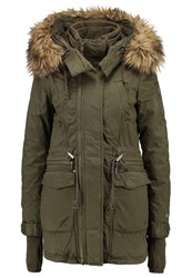 Khujo Chevril Winter Coat Olive