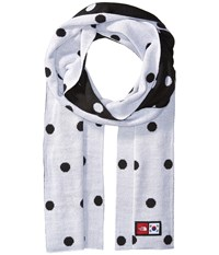 The North Face International Collection Novelty Scarf Tnf White Dot Print Tnf White Scarves