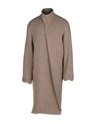 Gentryportofino Coats And Jackets Full Length Jackets Men Brown