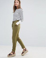 Sugarhill Boutique D Ring Peg Pants Green