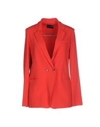 Atos Lombardini Suits And Jackets Blazers Women Red
