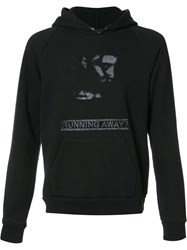 Enfants Riches Deprimes Running Away Hoodie Black