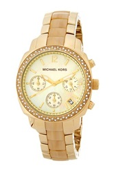 Michael Michael Kors Women's Glitz Horn Chronograph Watch No Color