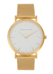 Larsson And Jennings Chain Metal Gold Plated Watch