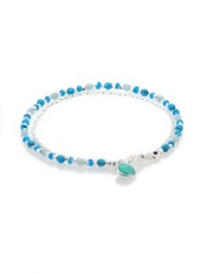 Astley Clarke Biography Turquoise Appatite Amazonite And Sterling Silver Beaded Friendship Bracelet Silver Turquoise