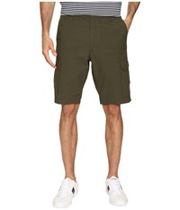 Dockers Standard Washed Cargo Shorts Olive Men's Shorts
