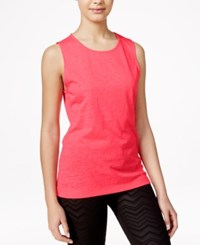 Material Girl Active Juniors' Cutout Tank Top Only At Macy's Pink