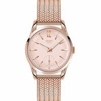 Henry London Ladies' Shoreditch Stainless Steel Watch Rose Gold Nude Neutrals