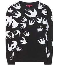 Mcq By Alexander Mcqueen Printed Cotton Blend Sweatshirt Black