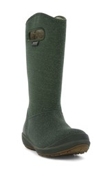 Bogs Women's 'Charlie' Waterproof Winter Boot Dark Green Multi