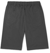 Margaret Howell Mhl Cotton Shorts Charcoal