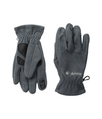 Columbia Thermarator Glove Graphite Extreme Cold Weather Gloves Gray