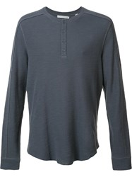 Vince Button Up Collar Grey