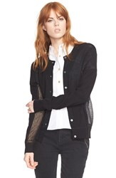 Women's Marc By Marc Jacobs 'Holly' Cardigan Sweater Black