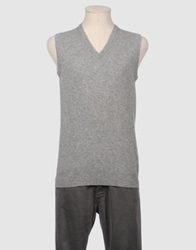 Joseph Lock Sweater Vests Grey