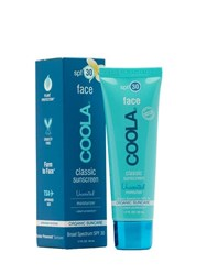 Coola Face Spf 30 Unscented Sunscreen Transparent