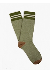 Etiquette Clothiers X Brooklyn Circus Mens Green Limited Edition Socks