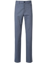 Cerruti 1881 Cotton Blend Chinos Blue