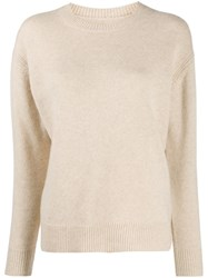 Iro Roll Neck Sweater Neutrals