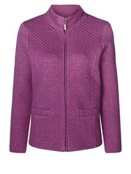 Dash Quilted Jacket Purple