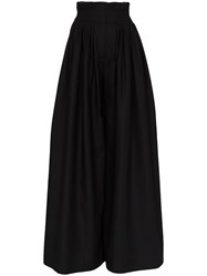 Vika Gazinskaya Wide Leg Trousers Black