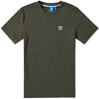 Adidas Long Logo Tee Green