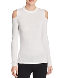 Elie Tahari Agnes Cold Shoulder Tee Antique