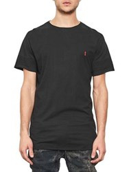 Nana Judy Dime Cotton Jersey Tee Black