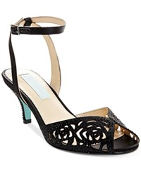Blue By Betsey Johnson Raven Evening Sandals Women's Shoes Black
