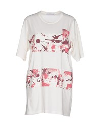 Lo Not Equal Topwear T Shirts Women Ivory