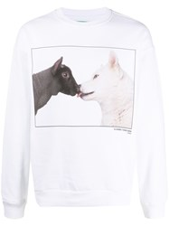 United Colors Of Benetton Wolf And Lamb Print Sweatshirt 60