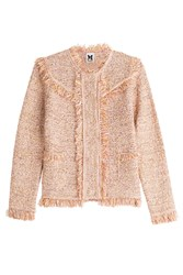 M Missoni Textured Jacket With Cotton Multicolor