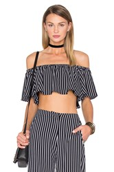 House Of Harlow X Revolve Bree Crop Black And White